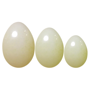 Белые нефритовые яйца